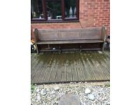 Original Church Pew (8ft long) - just come and collect!