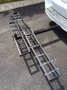 Motorcycle Carrier - Trailer Hitch Mount
