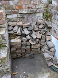 Reclaimed Bricks and Stone
