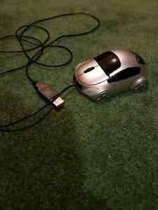Light up Car shaped mouse for computer