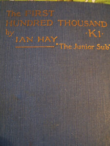 THE FIRST HUNDRED THOUSAND (the Great War)