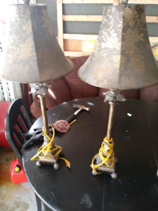 Table top lamps (2 sets)