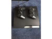 PS3 320GB + PS Move controller + 2 charging cables + games listed
