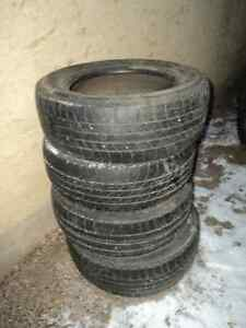 4 Assorted All Season Tires 70% Tread Left - Size P185/60R14 Edmonton Edmonton Area image 7