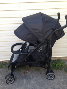 Summer Infant 3Dtwo Double Stroller