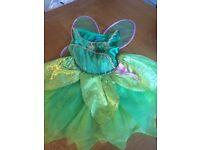 Disney Tinkerbell fancy dress size 3-4