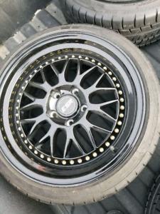 17 inch esr wheels good tires