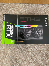 EVGA NVIDIA GeForce RTX 3080 FTW3 Ultra Gaming LHR 10gb Ampere Graphic