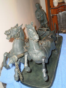Bronze Roman Chariot - REDUCED