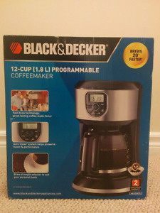 BNIB 12-cup Programmable Coffemaker