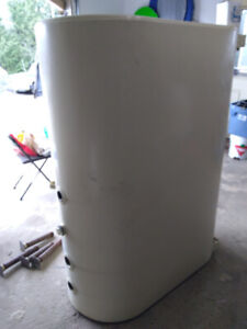 Used oil tank 910 L Granby  double bottom dated 2013