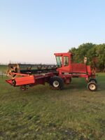 1992 case ih swather in good condition