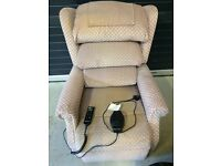Lift and recline electric chair