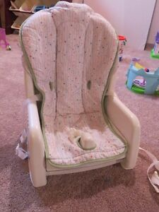 Fisher Price Space Saver High Chair. $20.