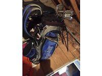 Mizuno MP-57 cavity back set, carry bag and driver