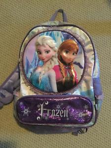 Disney Frozen Backpack & Disney Princess Lunch bag