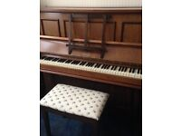 Delightful Upright Piano For Sale, With Stool - £200