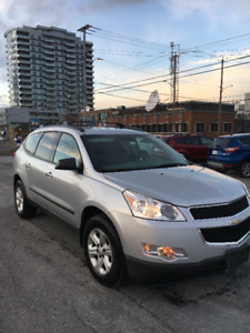 2011 Chevrolet Traverse Black SUV, Crossover