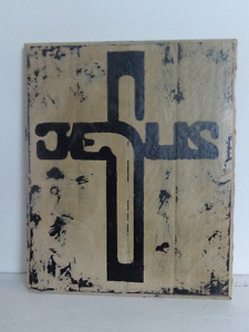 SMALL wooden signs Distressed handmade and painted