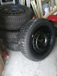 205/60/R16 Winter Tires on Rims