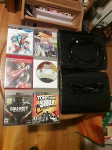 Tradeing Two PS3 SLIMS Game Systems and Games.