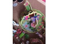 Elc magical fairy playset and extras