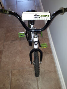 Bike with removable training wheels