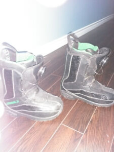 Childs snow boarding boots for sale
