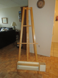 Easel/Chevalet/Paint