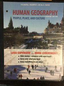 Human Geography - Canadian Edition