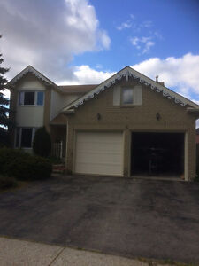 North Galt 4 bedroom detached double garage - available in July