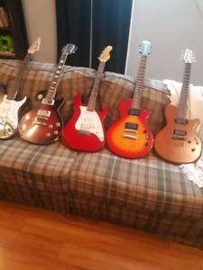Lot de guitare plus drum complet