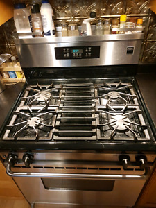 Frigidaire Gallery Stainless Steel Fridge, Stove and Dishwasher