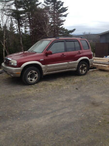 2004 Suzuki SUV, Crossover for parts