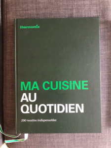 Thermomix books / Livres Thermomix (English, French and Spanish)