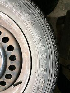 4 All Season Tires on Rims