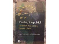 Insulting the public? The British Press and the European Union