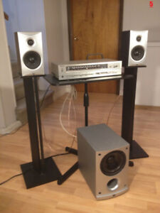Technics, JVC and Angstrom 2.1 Home Stereo