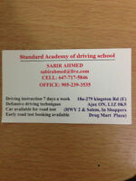 Driver Instructor Available Everyday