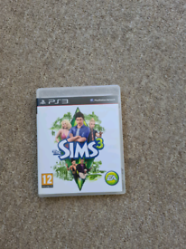 The Sims 3 playstation 3 game ps3
