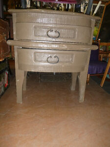 Bedside tables, accent tables, and side table, see photo's