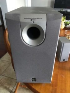 Yamaha Subwoofer and Speaker System - Perfect Condition Cheap