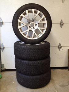 Factory BMW wheels & 245/50/18 Dunlop winter tires