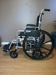 DRIVE - Wheelchair Poly Fly Light Weight Transport