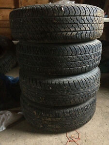 4 185 70 14 allseason tires and rims