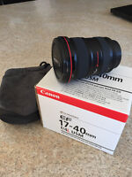 Canon EF 17-40mm f/4L USM Ultra Wide Angle Zoom