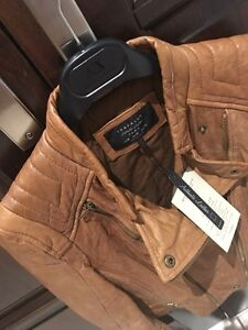 Zara leather jacket - Brand New with tags (veste cuir) West Island Greater Montréal image 2