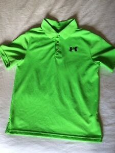 Under Armour Golf Shirts - Size Youth L Peterborough Peterborough Area image 1