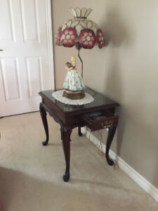2 Cherrywood  End Tables FOR SALE