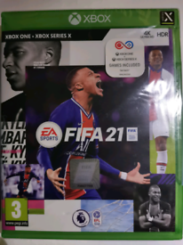 FIFA 21 FOR XBOX ONE AND XBOX X SERIES
